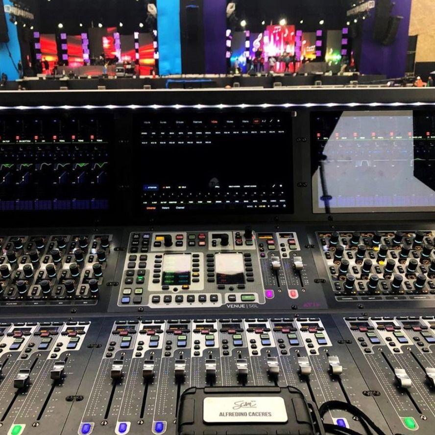 mixing #console #livesound #s6l #avid #regram   VENUE   S6L