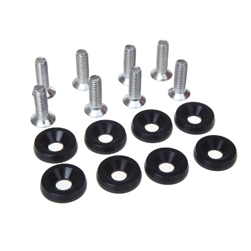 5.45$  Know more  - 8pcs Bumper Washer & Bolts Kit Set Aluminum Alloy Black