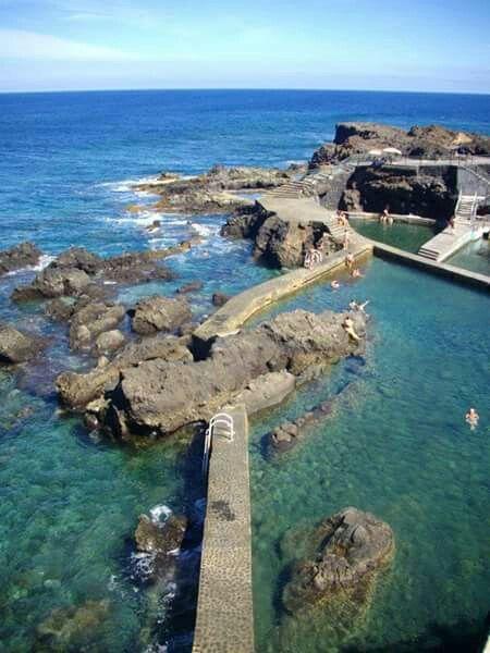 Piscinas en fajana barlovento isla de la palma islas canarias canary islands la palma y - Piscinas 7 islas ...