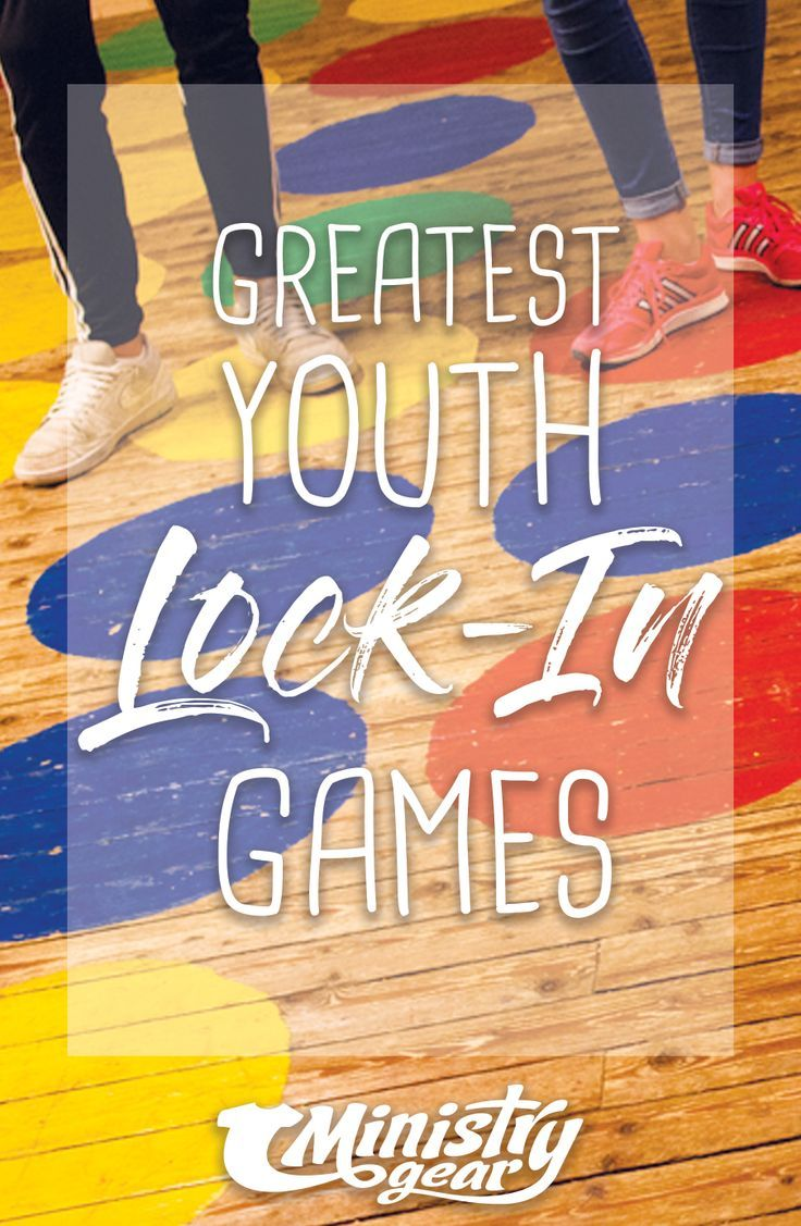 Greatest Youth LockIn Games For Your AllNiter Youth