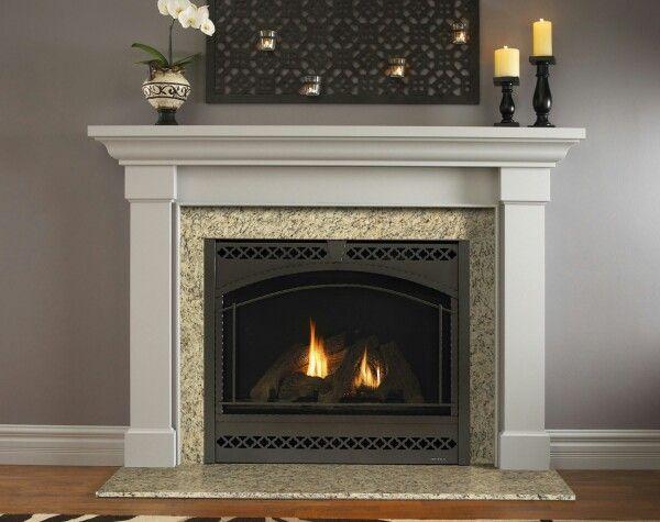 Kenwood Flush Mantel Traditional Fireplace Fireplace Design Contemporary Fireplace