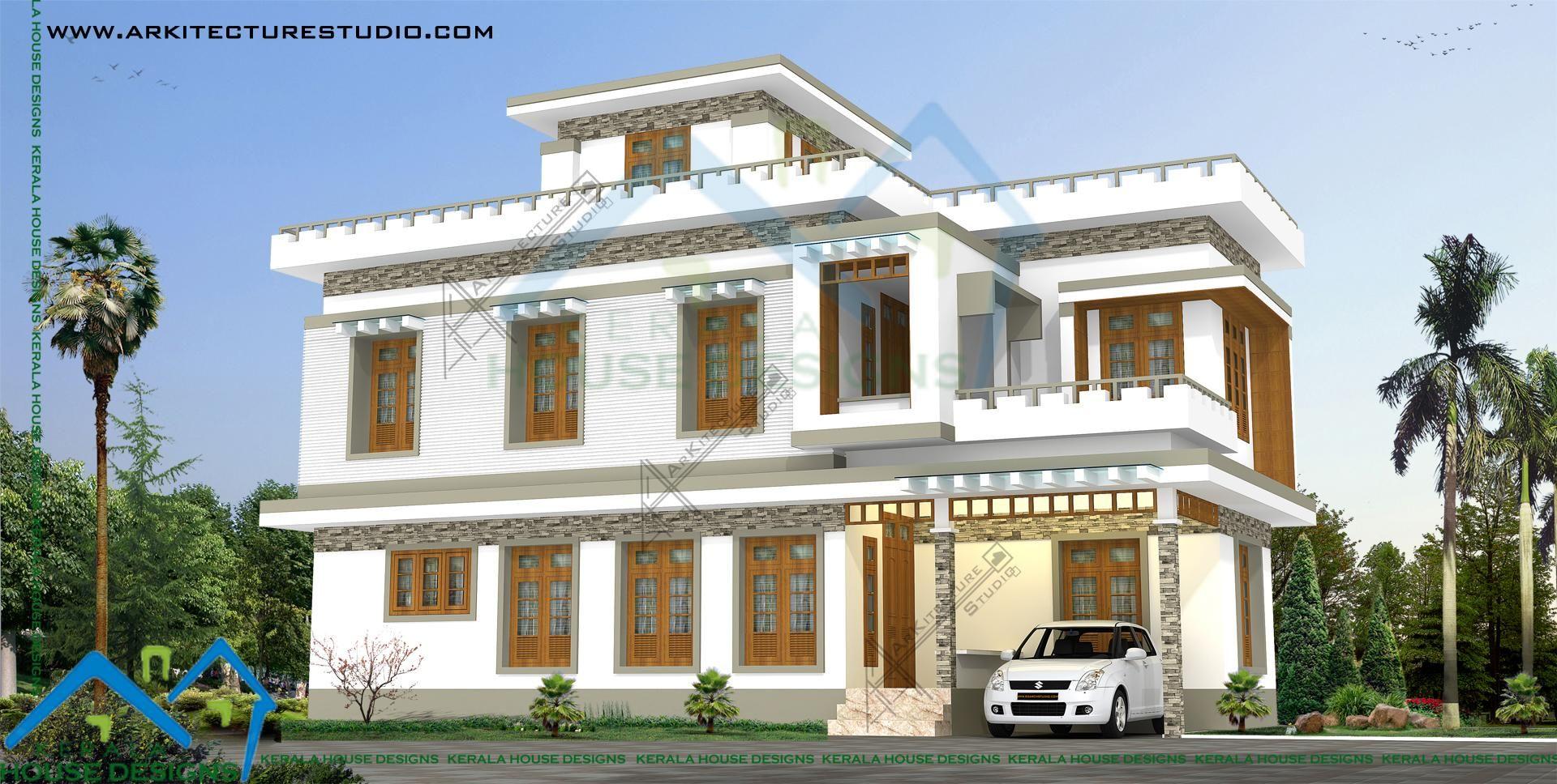 Villa 1 Khd Kerala House Design Kerala Houses House Design