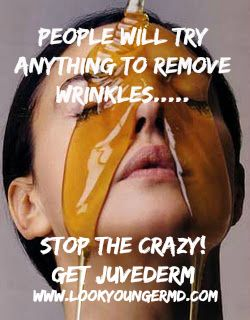 this doesn t work stop the crazy juvederm works and it isn t