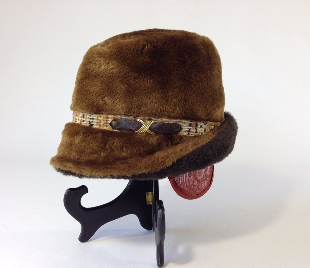 ae26793a Vintage Men's Faux Fur Fedora Hat United Hatters Cap Millinery Wkrs Int.  Union | Clothing, Shoes & Accessories, Vintage, Vintage Accessories | eBay!