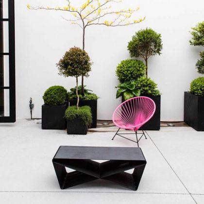 Terrasse avec chaise Acapulco