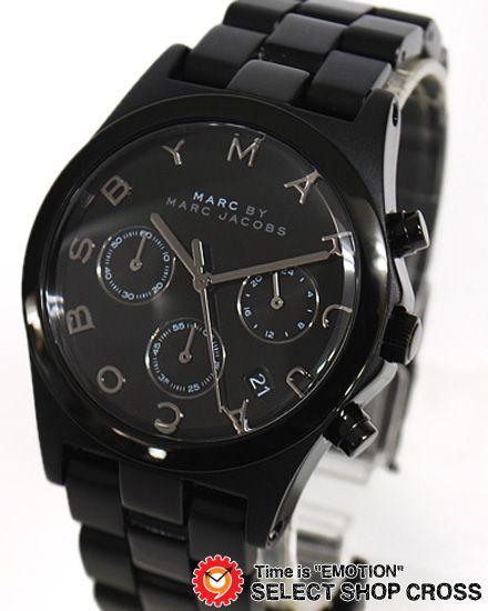 online store 91e99 afe03 マーク バイ マークジェイコブス Henry Aluminum Chronograph ...