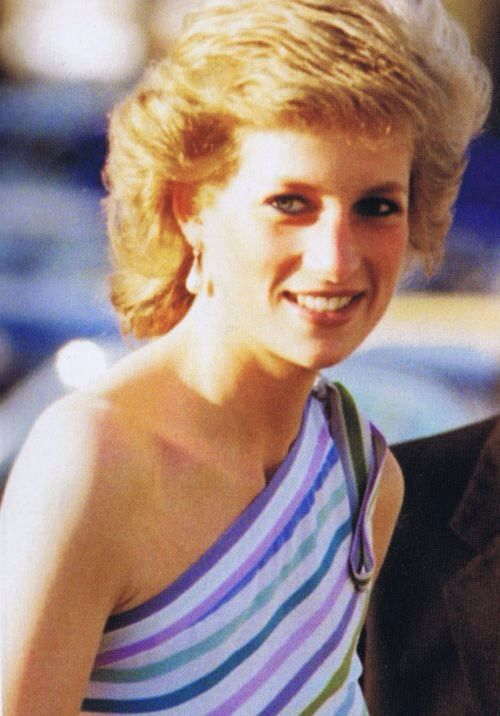 Diana on a holiday in Majorca