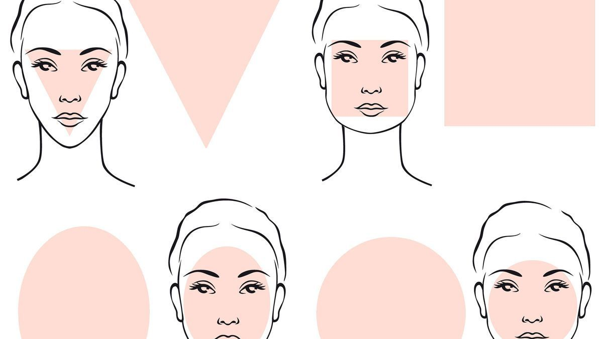 Hair Styles Square Face Hairstyles Face Shape Hairstyles Oblong Face Hairstyles