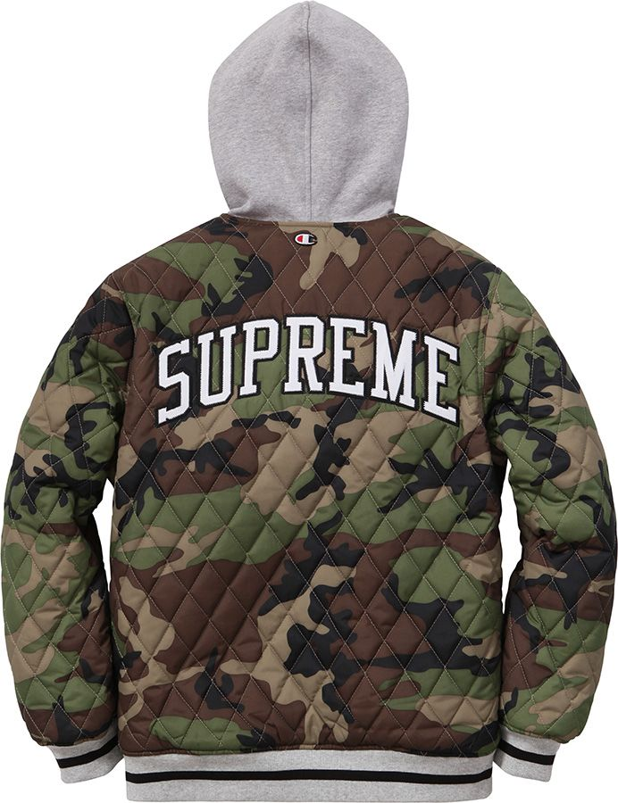 ba574e9dd64b Supreme/ Champion Reversible Hooded Jacket | Only on top of clothes ...