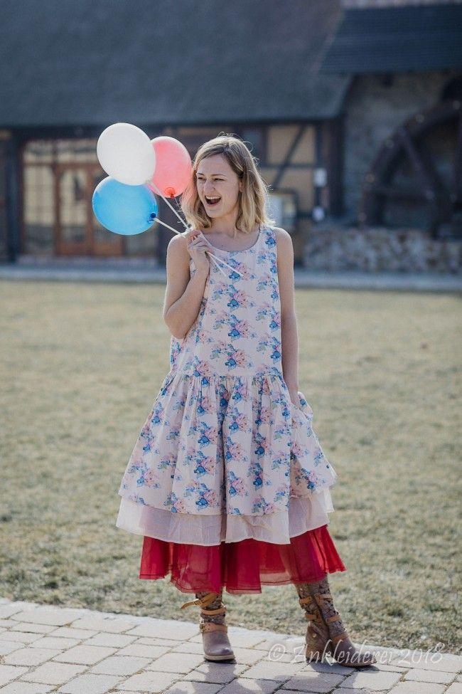 Ewa i Walla Kleid Flower Cotton Original 55551 SS18 | französische ...