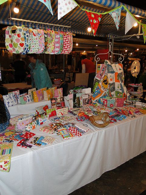 craft show banner ideas i the hanging bar with bibs on it also most booths 4044