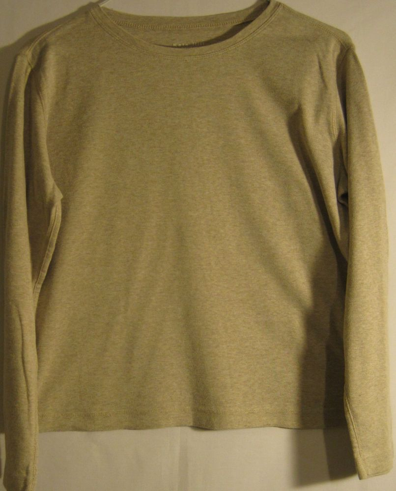 Kate Hill women pullover sweater, size petite medium, 100% cotton ...