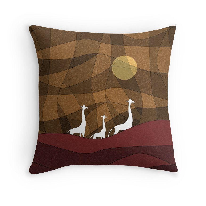Beautiful warm giraffe family design