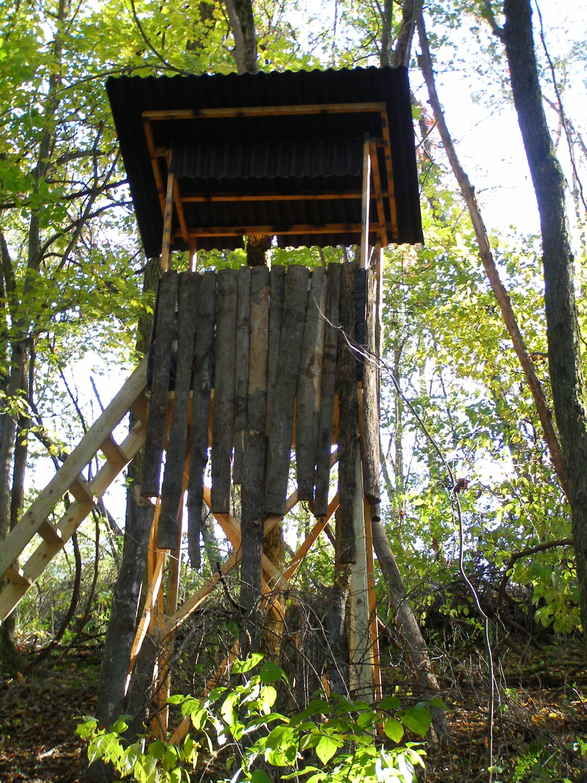 Box deer stand google search hunting pinterest box for Deer ground blind plans