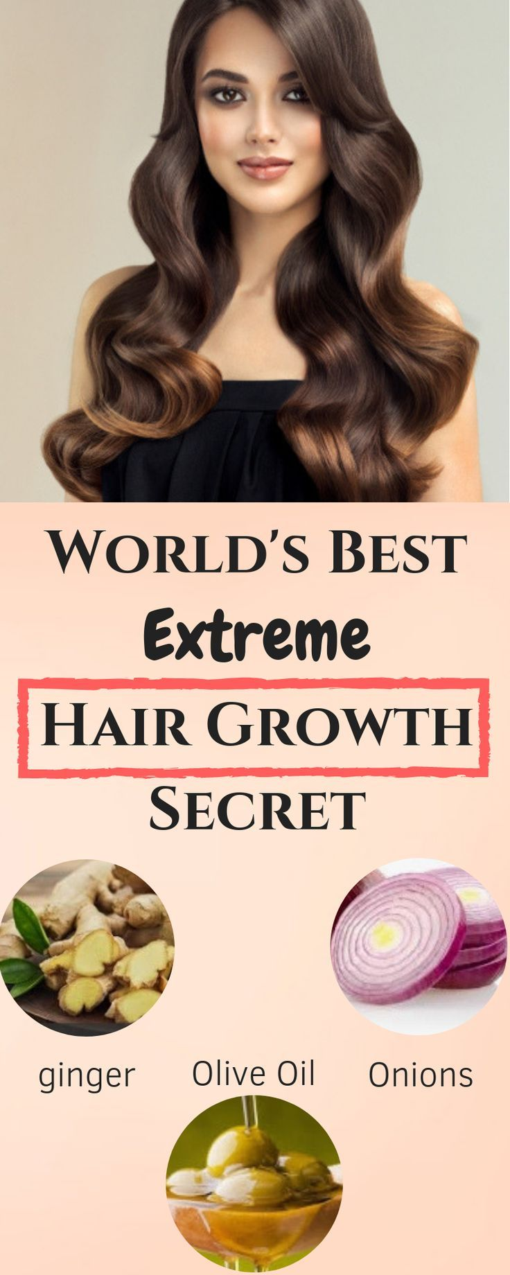 Vitamins for Hair Growth} and World's best extreme hair growth remedy #haircare #hair #hairgrowth #haircaretip...