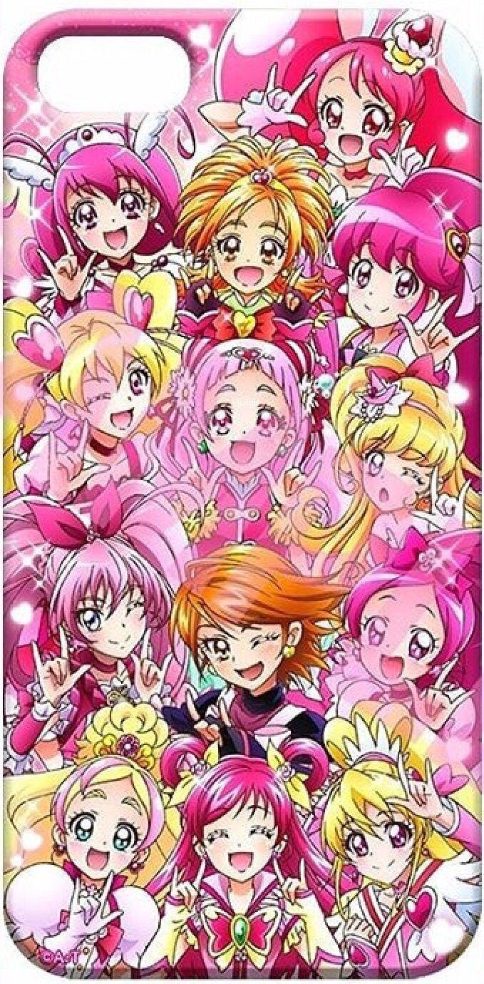 Precur all stars pink 2018 Magical girl anime, Smile