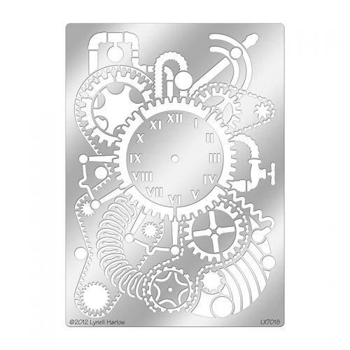 Steampunk Clock Stencil   Products I Want