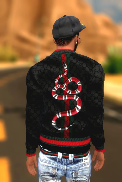 Xxblacksims Gucci Jackets Sims 4 Clothes Males