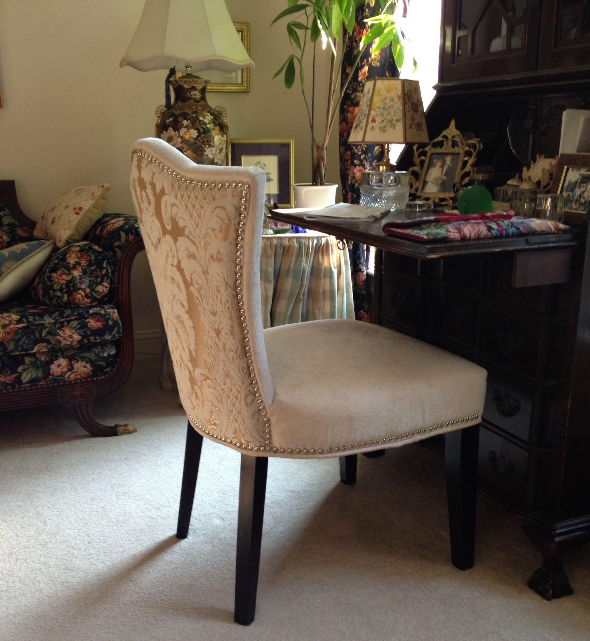 Jess's desk chair (TJMaxx find) Chair, Plastic chair