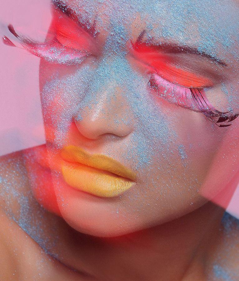 Make up by Pamela Seabrook Model Deonna Pinkerton Shot