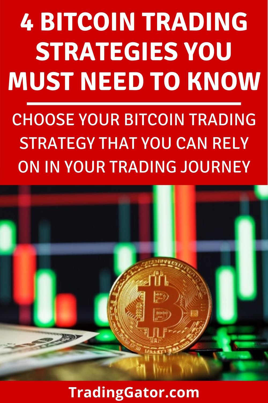 4 Bitcoin Trading Strategies Choose Your Bitcoin Trading Strategy Trading Strategies Bitcoin Online Broker