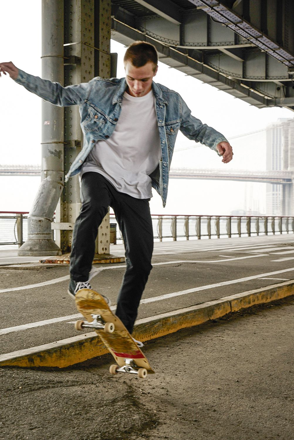 Levi S Icy Denim Trucker Jacket Men Fashion Casual Outfits Skateboard Clothing Men Skateboard Clothes