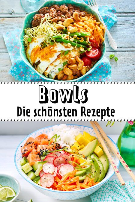 Photo of Bowl recipes – colorful, healthy, in your mouth DELICIOUS