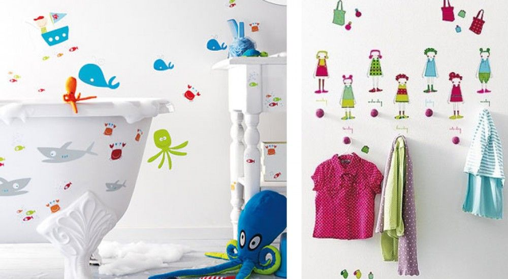 Vinilos decorativos de Cuarto Color para niños   Colores ...
