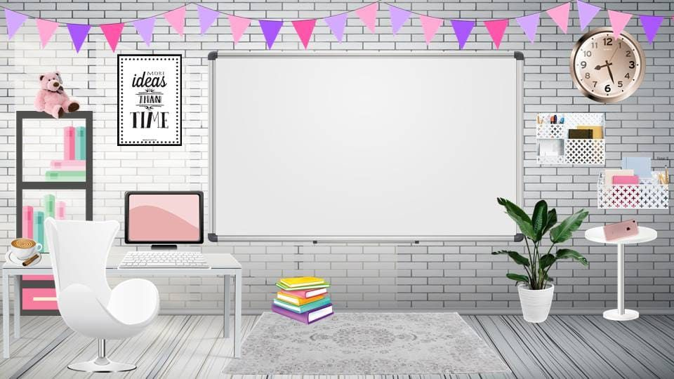 قوالب فصول افتراضية بتصاميم رائعة وجذابة اثناء التعلم عن بعد Classroom Interior Kids Classroom Decor Classroom Decor