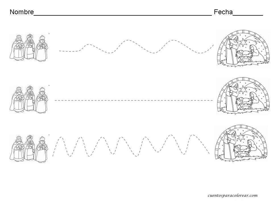 Material de isaac para educacion especial dibujos para - Manualidades de navidad para ninos de preescolar ...