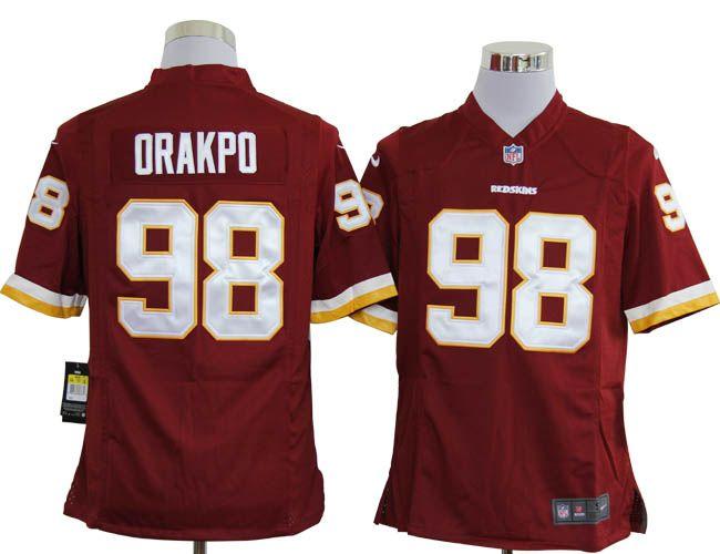 a07d2ac3 Nike NFL Jerseys Washington Redskins Brian Orakpo #98 Red,NFL ...