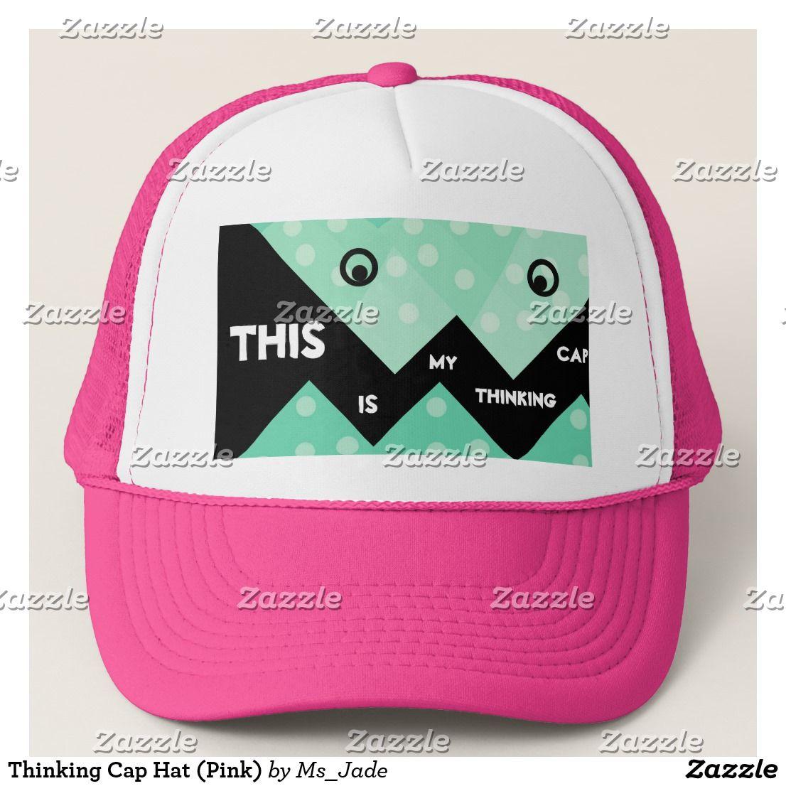 f40014de39a Thinking Cap Hat (Pink)