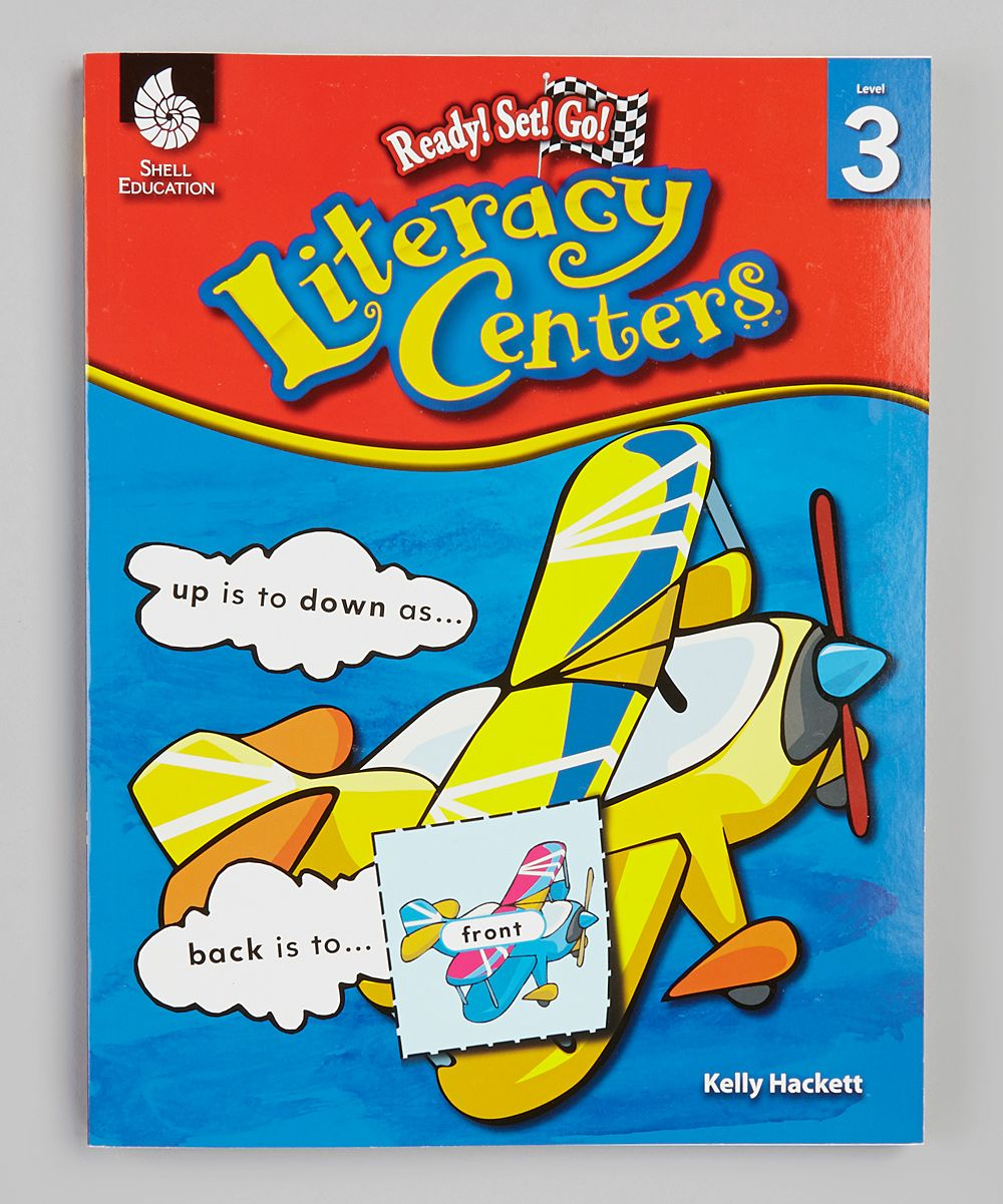 Ready! Set! Go! Literacy Centers: Grade 3 Workbook & CD