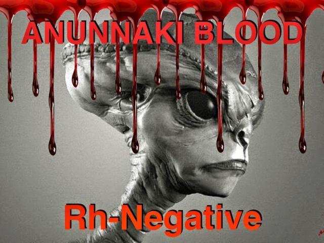 Rh negative reptilian