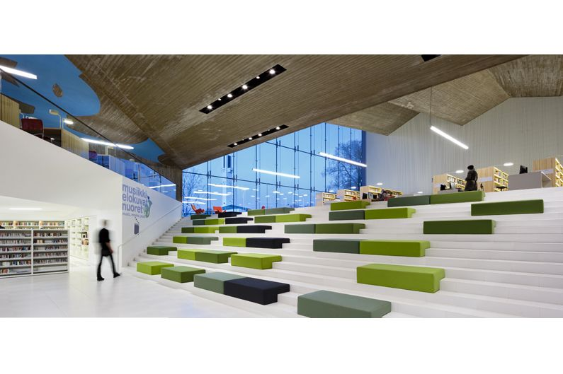 A flexible space that doubles as an auditorium - Interior design school nashville ...