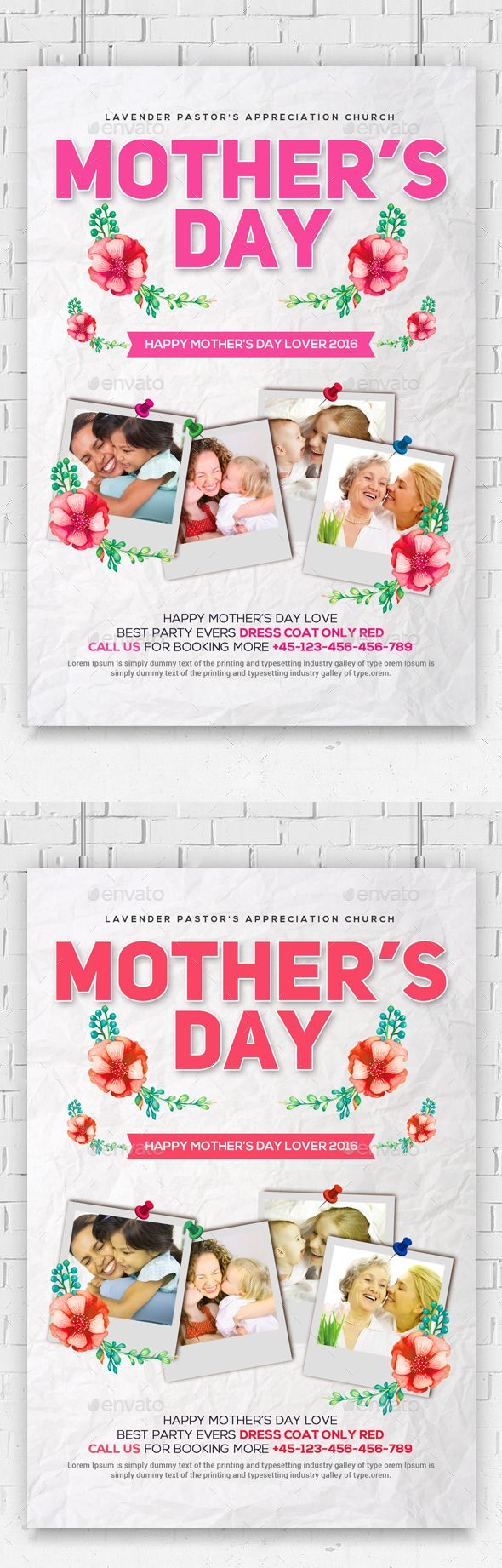 Happy MotherS Day Flyer Psd  Events Flyers  Big Friends Ideas