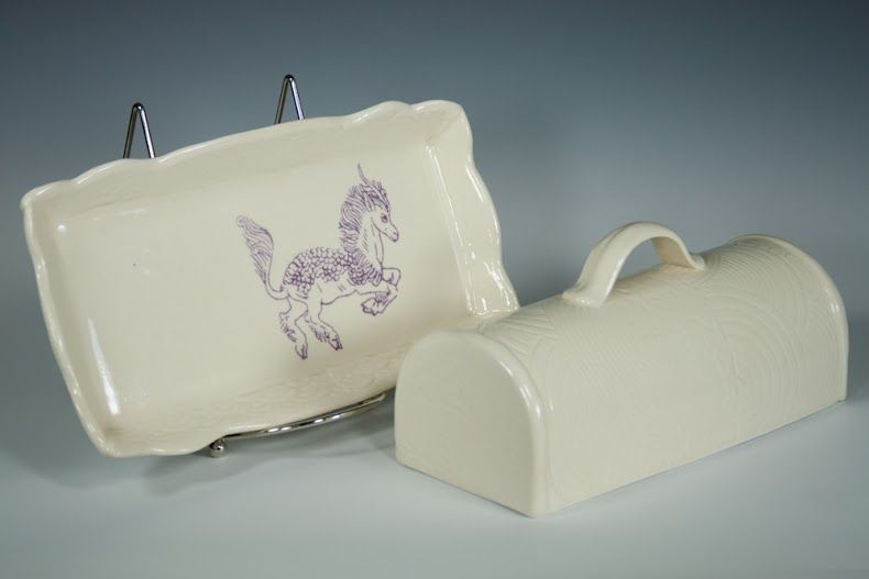 Amy Henson butter dish, photographer S.K. Plagens