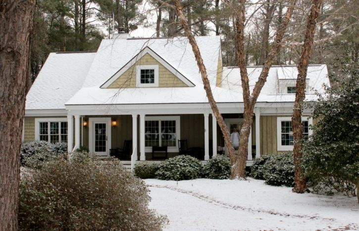 Snow Day Southern Style Spanish Style Homes Cottage House Plans Cottage Homes
