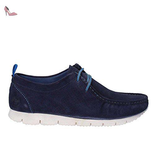 Lumberjack SM27304-001 A01 Sneakers Homme Croûte De Cuir Bleu marin 40 -  Chaussures lumberjack