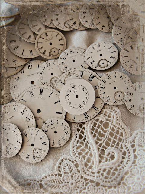 vintage ziffernbl tter vintage clock face 3d klokken uhren alte uhren en shabby. Black Bedroom Furniture Sets. Home Design Ideas