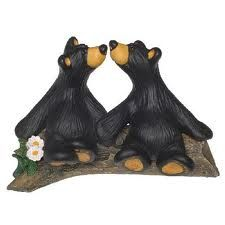 Our cake topper! It's perfect since our nicknames are Mama Bear and Papa Bear : )