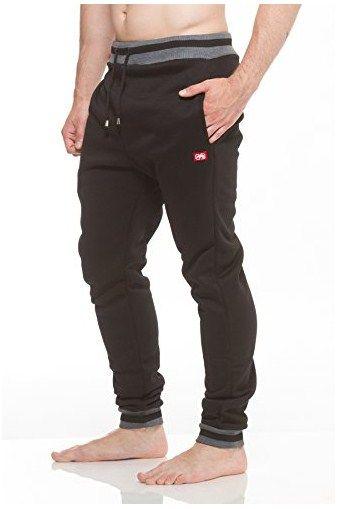 Mens ECKO UNLTD Fleece Jogger Sweatpants Black