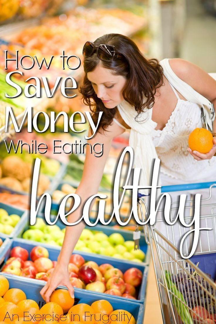 how diet can save money