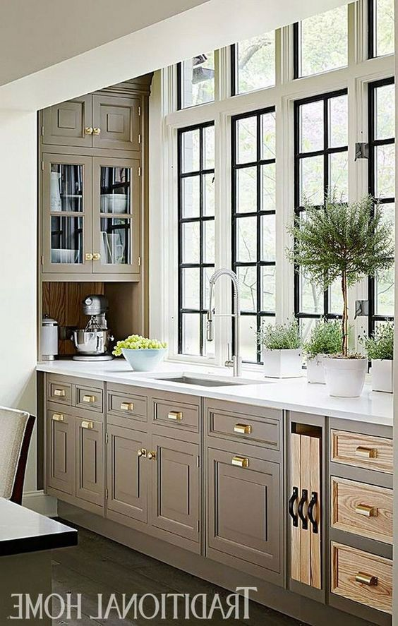 Deluxe Handcrafted Kitchen Design Ideas #kitchendesignideas