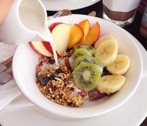 Inspiring picture breakfast, cereal, cornflakes, eat. Resolution: 500x499 px. Find the picture to your taste!