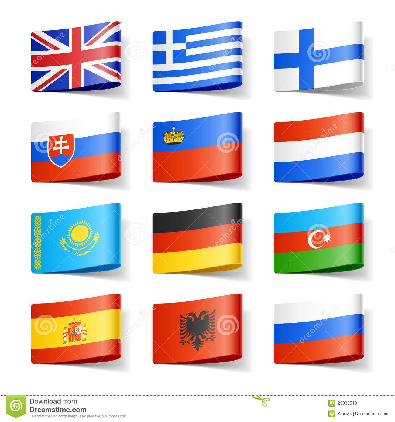 Download World Flags Europe Cartoon Vector via