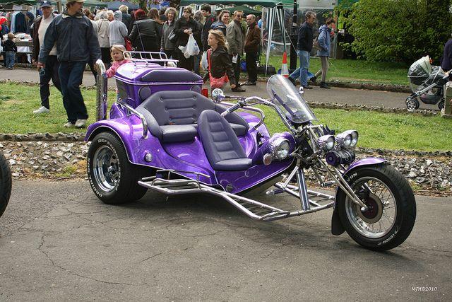 Purple Trike With Images Trike Motorcycle Trike Vw Trike