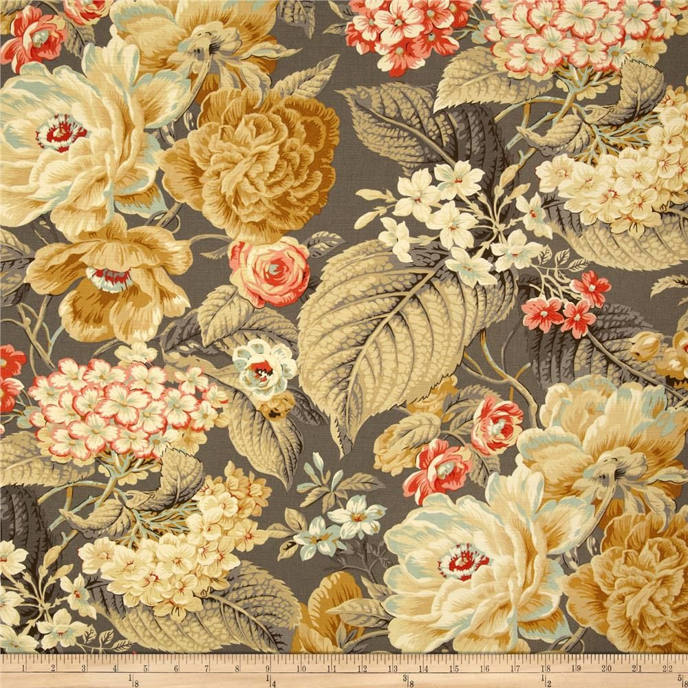 waverly floral flourish clay | more curtain valances, cover pillow