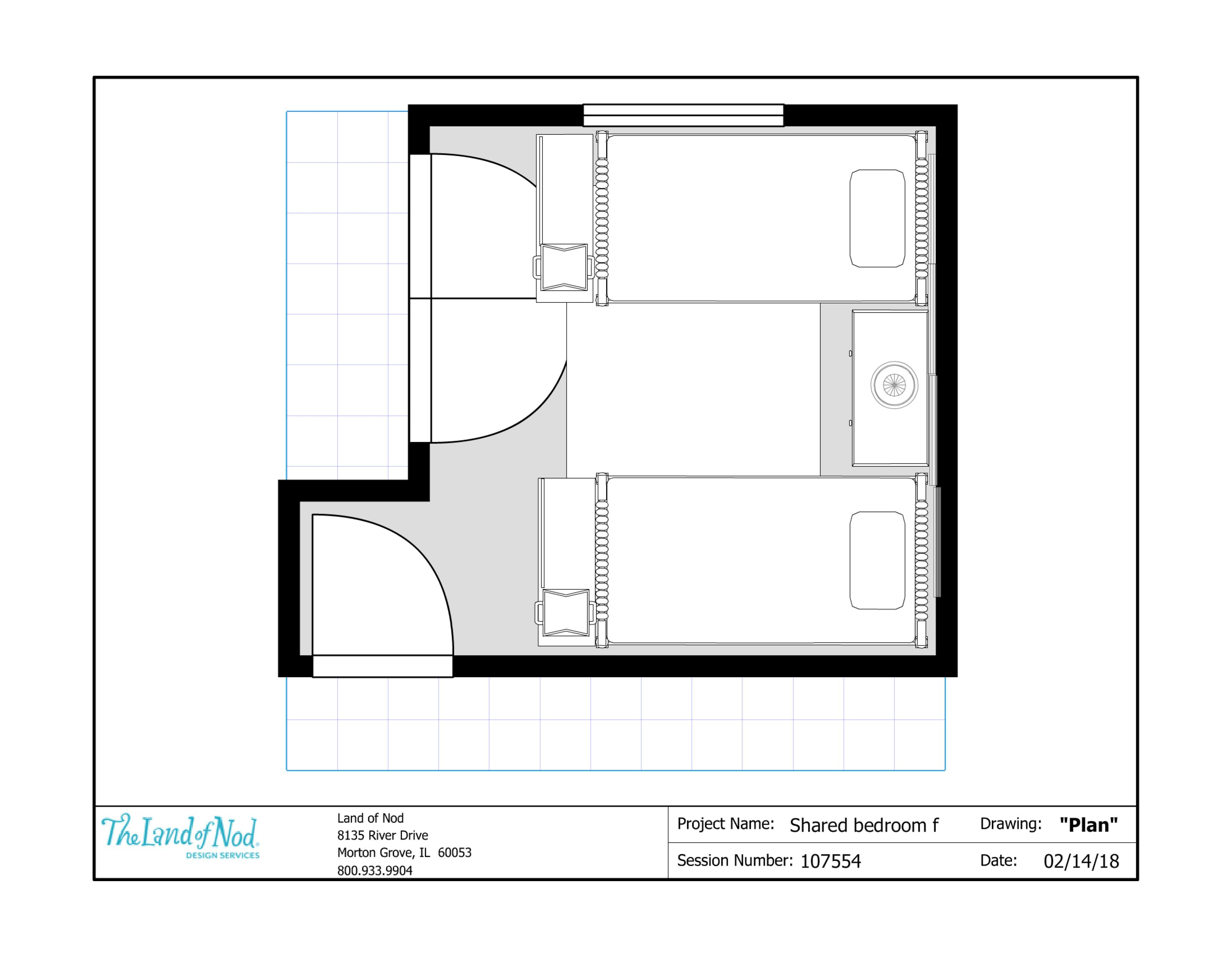 Floor Plan Shared Room Shared Room Floor Plans How To Plan
