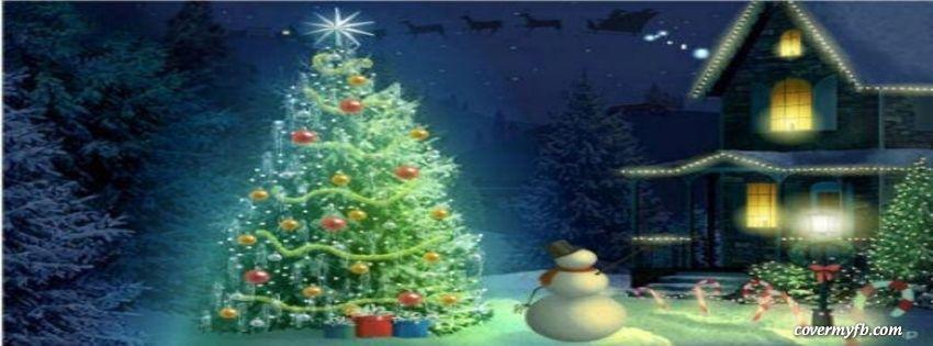 Beautiful Christmas Night Facebook Covers, Beautiful Christmas Night ...